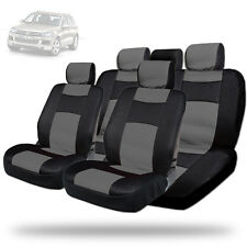 New Elegant Design Mesh and Synthetic Leather Car Seat Covers BG For VW