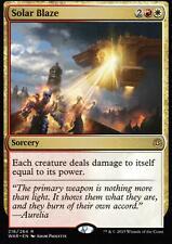 2x Solar Blaze | NM/M | War of the Spark | Magic MTG