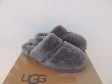 UGG SLATE DALLA SHEEPSKIN STREET FRIENDLY SLIPPERS,  WOMEN US 11/ EUR 42 ~ NIB