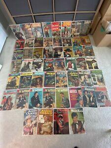 Big Lot of 52 DELL Silver Age Western Comics Buffalo Bill Wyatt Earp Lone Ranger