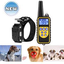 800m Bark Stop Pet Dog Training Collar Ultrasonic Anti Barking Control New AUS