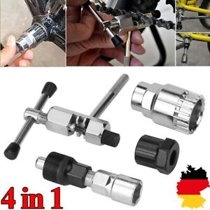 Fahrrad Werkzeug Tretlager Kurbelabzieher Kurbel-Abzieher Reparatur Set 4 in1 DE