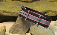 The Ballistic Nylon Strap w/ Polished Hardware By NATO Strap Co.(℠)