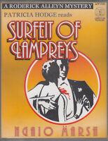 Ngaio Marsh Surfeit Of Lampreys 2 Cassette Audio Book Roderick Alleyn Mystery