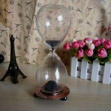 Timer Sand Clock Filled Magnetic Desktop Hourglass Craft Decoration Gift