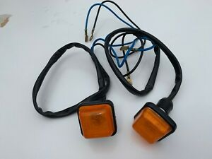 Lamborghini Countach front indicator side lights lamps NOS