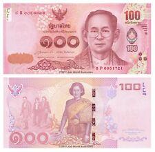 Thailand 100 Baht 2015 King Rama Commemorative P-126 Banknotes UNC