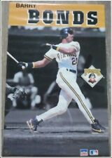 BARRY BONDS STARLINE POSTER 1991 PITTSBURGH PIRATES POSTER VINTAGE - NEW