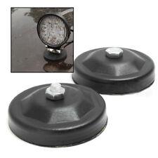 2X Magnetic Bace Mount Bracket Sucker Holder Clamp For LED Work Light Bar Tool