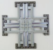 LEGO Eisenbahn 12V 12 Volt Kreuzung grau (7857)