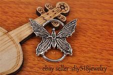 5s 27*25mm charm butterfly pendant DIY Jewelry For Bracelet Tibet Silver 7191