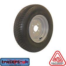 "NEW Trailer Wheel & Tyre 145 R10 4 ply 4 Stud 4"" PCD - FREE DEL"