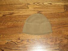 usmc fleece coyote beanie, new old stock, usmc insignia,one size 2005