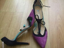 Strappy, Ankle Straps Slim Multi-Coloured Heels for Women