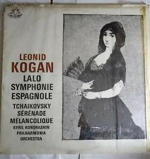 Leonid kogan , krondashin , Lalo , Tchaikovsky _ Symphonie Espagnole