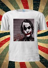 The Joker Heath Ledger I'm Not A Monster T-Shirt Vest Top Men Women Unisex 2052