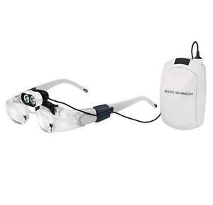 Eschenbach Gafas con Lupa Max Detalle 2 Veces + 16042 Headlight LED Iluminación