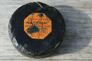 vintage NHL puck Art Ross Converse circa 1950's