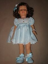 Vintage Hard Face Chatty Baby Auburn Hair~Light Blue Eyes~Talks 8 cathy red