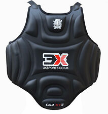 Chest Guard Gel Karate Body Protector MMA UFC Armour Muay Thai Kick Boxing
