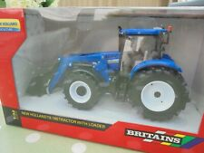 Britains  FARM RARE  1:32 Scale New Holland T6.180 Loader Tractor Farm Model