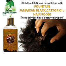 Jamaican black castor oil hair food with peppermint for hair loss & dry scalp