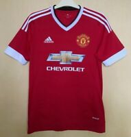 FC MANCHESTER UNITED 20152016 HOME FOOTBALL JERSEY CAMISETA SOCCER MAGLIA SHIRT