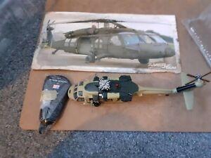 IW8}1991 UH-60L BLACKHAWK 1:72 SCALE AMER MODEL HELICOPTOR