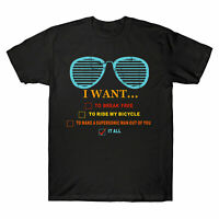 Music lover Gift I Want It All Music Vintage Men's T-Shirt Short sleeve Tee