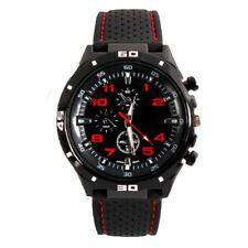 1p Men Childrens Kid Boys Analogue Sport Spare GT Smart Watch Black Red UK 1