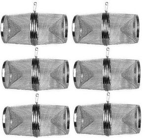 SIX (6) Gee's G40 Galvanized Minnow Bait Fish Snake Traps FREE SHIPPING