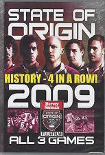 NRL - State Of Origin: 2009 - All 3 Games (3 DVD Set)