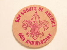 1970 Boy Scouts Scout-O-Rama/  Fremont, Nebraska souvenir wooden nickel