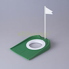 New Golf Putting Green Regulation Cup Hole Flag Indoor Practice Training Aids