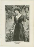 1910 Dorothy Donnelly 7x9.75 Vintage Printed Photo of Actress in MADAME X