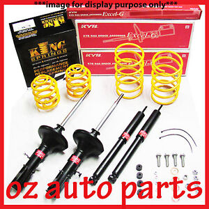 KYB SHOCK ABSORBER 30mm LOW COIL SPRINGS KIT FOR TOYOTA CELICA ST204 COUPE 94-99