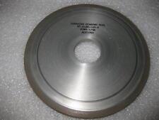 "Diamond Grinding Wheel 1V1 V-Face 6"" x . 250 "" x 32 mm New 220 Grit U.S.A."