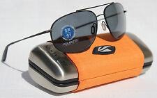 KAENON Ballmer POLARIZED Sunglasses Matte Black/G12 Gray NEW 307-03-G12 Aviator