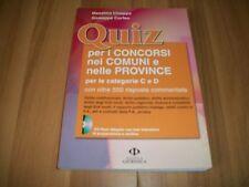 CHIAPPA/CORFEO-QUIZ PER CONCORSI COMUNI&PROVINCE+CD-ROM