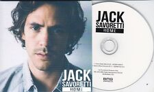 JACK SAVORETTI HOME RARE 2 TRACK PROMO CD [RADIO MIX / ALBUM VERSION]