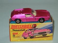 MATCHBOX SUPERFAST 05 LOTUS EUROPA, Metallic Pink, Wide Wheels VVNM in H1 Box