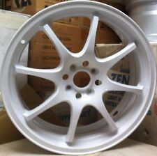 Racing Hart CP8 18 X 7.5 ET 42 4:100 White Set Of 4 Wheels Made In Japan