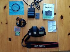 Canon EOS 50D DSLR Camera Body