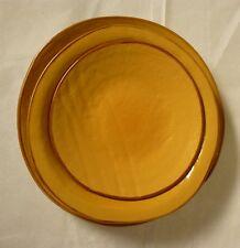 Posto tavola in ceramica colorata gialla creata a mano etnica