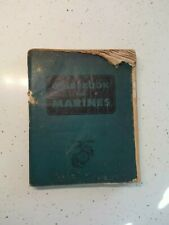 1951 GUIDEBOOK FOR MARINES, Second Revised Edition, Twelfth Printing