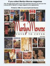 MARILYN MONROE: COVER TO COVER -  SCARCE OUT OF PRINT - 200 VINTAGE COVERS!