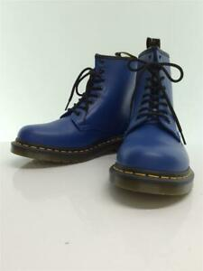 Dr.Martens Unused 1460 Lace-Up Boots Uk8 Leather Blue UK 8 Boots From Japan
