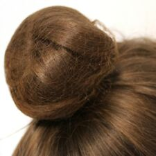 With Elastic Edge Stretch To Fit 2 X Nylon Sleep-In Hair Nets B Dark Brown