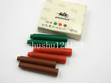 12pcs jinhao red green brown smooth Fountain Pen Ink