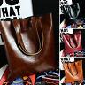 Handbag Lady Shoulder Bag Tote Purse Leather Women Messenger Hobo Bag&